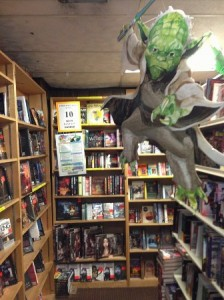 37 rooms of books AND a flying Yoda - What's not to like?