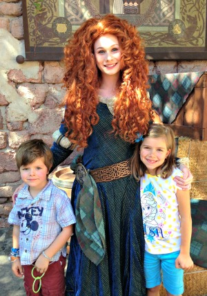 Merida might want to take it easy on the Aqua Net.