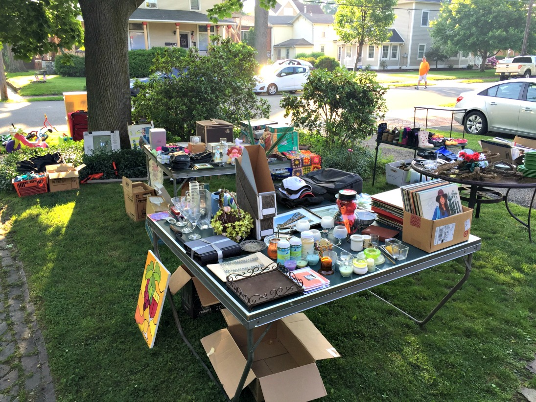 Hosting A Yard Sale - A How-To Guide - Valentine J. Brkich